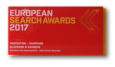 EUROPEAN SEARCH AWARDS 2017